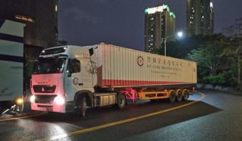 手握方向的骑士,车轮上的中国之中港司机
