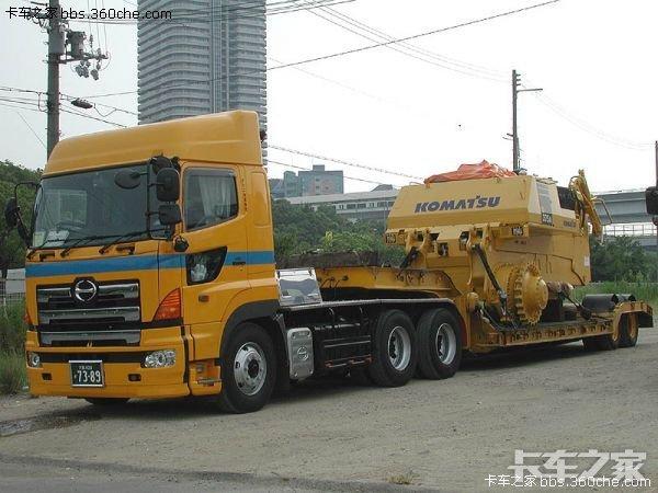 老款日本尼桑卡车_东洋力士 日式大件运输 _ 卡车之家论坛