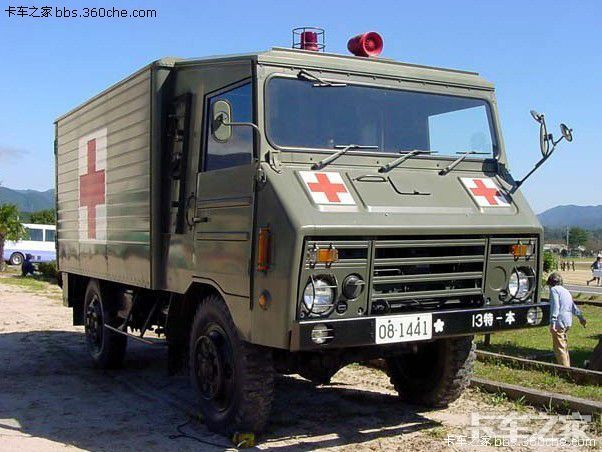 老款日本尼桑卡车_日本74式军车---日本陆自的老队员 _ 卡车之家论坛