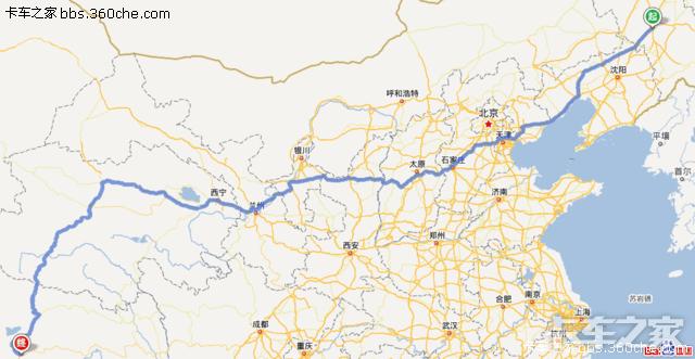 2013年4月23日长春一汽高速出口准备出发