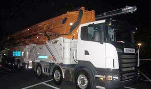 世界最长!中联重科101米混凝土臂架泵车