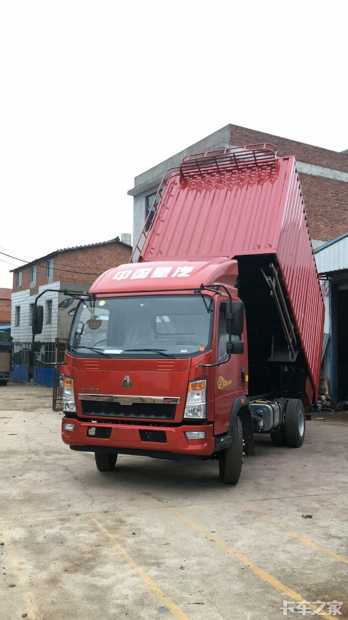 豪沃自卸车具体怎么操作 举升和落下 汽车问答详... _中国汽车网