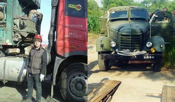 改革开放40年,卡车影响一个家庭两代人