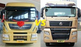 不服来辩!这两款牵引车你觉得哪个好卡车之家论坛