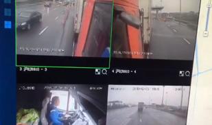 视频记录的一次事故,大家分析下谁的责任卡车之家论坛