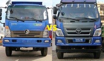 不服来辩!这两款自卸车你喜欢哪款?