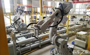 直播:机器人装配挂车桥,20万公里免维护卡车之家论坛