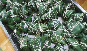 孩童时期的粽子节