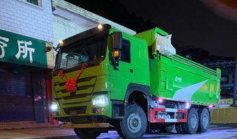 如此干净的豪沃440曼发动机渣土车你见过么?