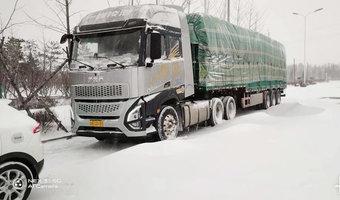 大雪封路300公里竟然用20迈跑了4天