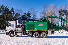 全新设计SISU卡车 一天耗油800升!!!